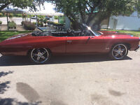 1 of kind 72 Chevy impala convertible SS CANDY RED 416 529-9884
