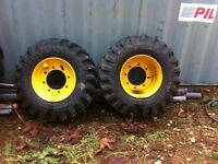 Backhoe Wheels and Tires