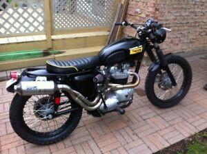 rembourreur custom siège de motocyclette harley davidson bmw