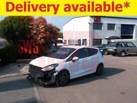 2018 Ford Fiesta ST-Line Turbo 1.0 DAMAGED REPAIRABLE SALVAGE