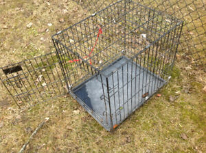 Dog cage ,pet cage , medium size , works good , only 25 dollars