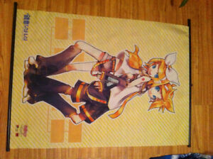 Poster/tapisserie vocaloids Kagamine