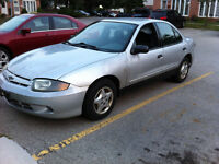 2004 Chevrolet Cavalier Sedan safety and etested