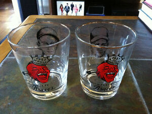 OFFERS? MILWAUKEE BRAVES Glasses 1957 CHAMPS Roach Schoendienst