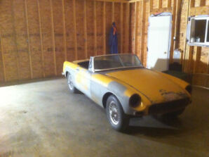 1968 MGB ROADSTER Project