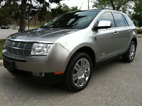 """2008 LINCOLN MKX AWD LIMITED - PANORAMIC / NAVIGATION / 20"""" RIMS"""
