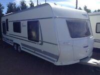 Fendt 700 platin 2012 caravan fixed island bed not hobby