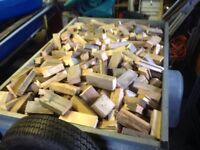 TRAILER LOAD OF DRY FIREWOOD