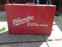 Heavy duty Milwaukee drill