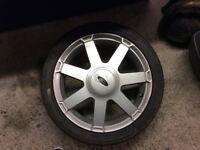 Ford Fiesta 16 inch alloy wheel