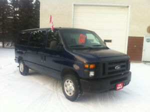 2012 FORD E-250 8 or 12 PASSENGER CLUB WAGON