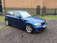 BMW 120 SPORT TURBO DIESEL 5 DOOR 6 SPEED
