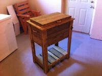 Wooden Cooler Box