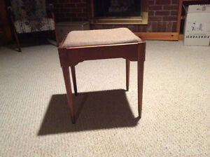 Mid century vintage sewing stool