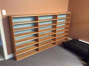 Antique mail sorting shelf. Reduced