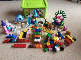 Large Lego Duplo Collection- inc Disney Princesses Ariel and Cinderella