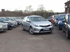 2013 Toyota Auris 1.6 V-Matic Icon Silver 5-door hatchback