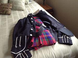 Kilt , with jacket belt and buckle