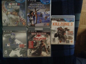 $20 each or best offer on these games