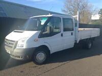 Ford Transit Dropside Crew Cab 2.4TDCi ( 100PS ) 350 LWB