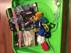 Beyblade Lots and Arenas