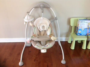 Bright Starts Cradle & Sway Swing