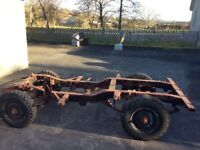 Landrover Series Rolling Chassis, Very very good condition