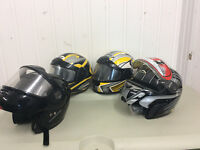 Helmets for sale NEW & USED!!!!!