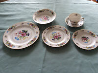 Set vaisselle Dresdon by Wentworth China