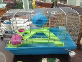 Slavic hamster cage very good condition with accessories!