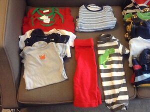 Box of boy's 6-9 months clothes Kitchener / Waterloo Kitchener Area image 2