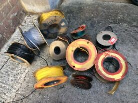 GARAGE CLEARANCE JOB LOT AUTOMOBILIA WIRING CABLE CLASSIC CAR