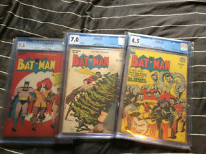 Selling Off 17 CGC Graded Comic Books NICE BOOKS