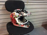 Youth medium motocross helmet