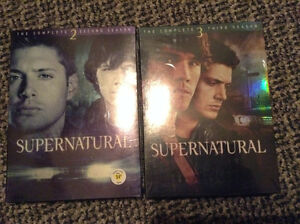 Supernatural on DVD --- Seasons 2 & 3 ***NEW & UNOPENED