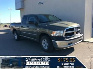 2013 Ram 1500 ST - REMOTE START, CLOTH - $175.95 BW!