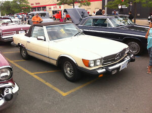 CLASSIC MERCEDES 1985 380SL TWO TOPS