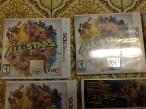 Wrestle mania all stars 3ds games 1 left ,25 dollars each Kitchener / Waterloo Kitchener Area image 2