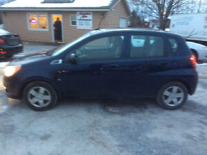 """2009 Chevrolet Aveo """"S """"LT  Automatic 181 kms Rust Free $2350.00"""
