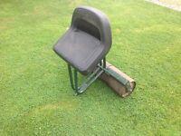 Webb model BB0087 rear roller lawn mower seat for petrol cylinder
