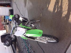 Kawasaki KLX 140 dirt bike