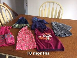 Clothing 0m up to 4T