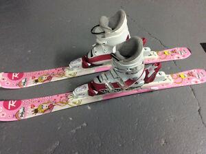 Ensemble skis alpins fillette