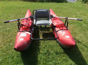 skagit one person pontoon boat