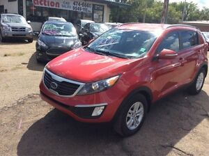 2012 Kia Sportage LX 4CYL AWD WINTER TIRES INC