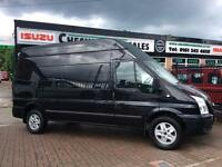 2013 63 FORD TRANSIT 2.2 350 LIMITED LWB 155 BHP WITH FSH 200 VANS OPEN 7 DAYS