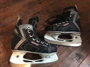 Used Easton skates - Kids Size 10