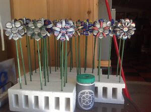 Beer Cap Flowers - $3.00 or 2 for $5.00