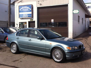 2003 BMW 330I/ MANUAL/ LOADED/ STAGGERED WHEELS