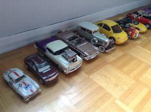 Collection de voitures à vendre.